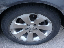VAUXHALL INSIGNIA  ALLOY  ( 7 SPOKE )   WHEEL INC TYRE   225/55/17